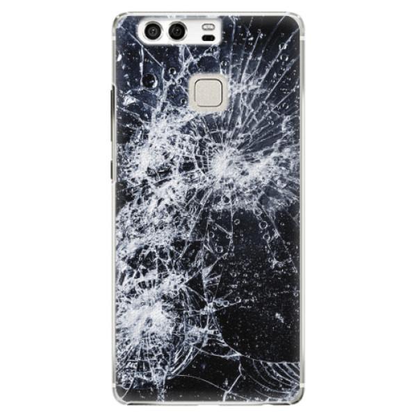 Plastové pouzdro iSaprio - Cracked - Huawei P9