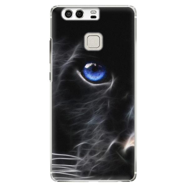 Plastové pouzdro iSaprio - Black Puma - Huawei P9