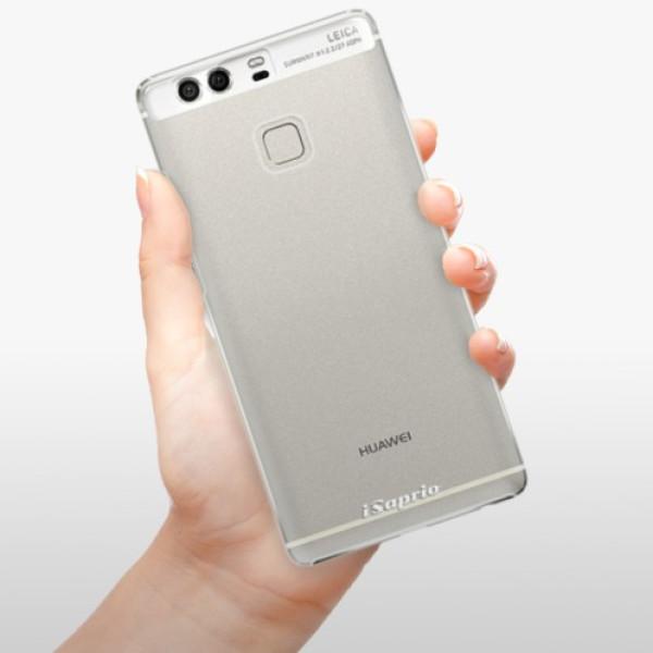 Plastové pouzdro iSaprio - 4Pure - mléčný bez potisku - Huawei P9