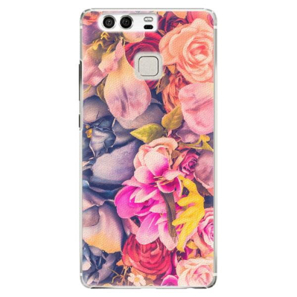 Plastové pouzdro iSaprio - Beauty Flowers - Huawei P9