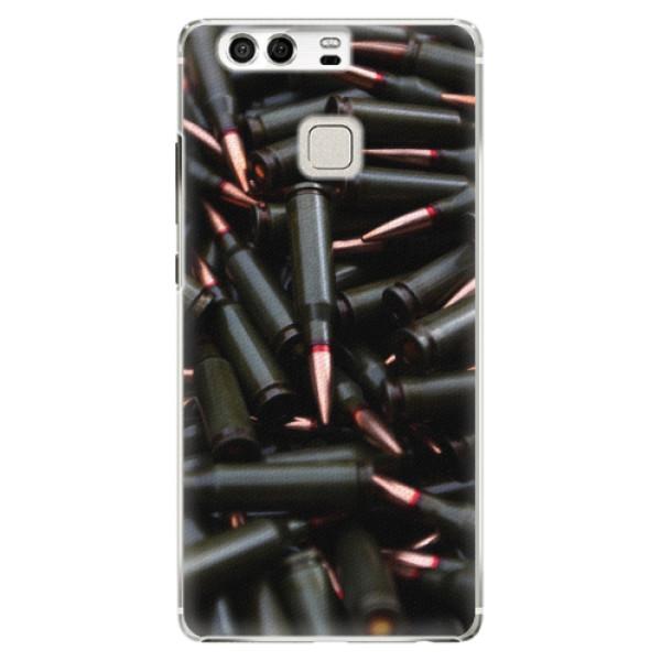 Plastové pouzdro iSaprio - Black Bullet - Huawei P9