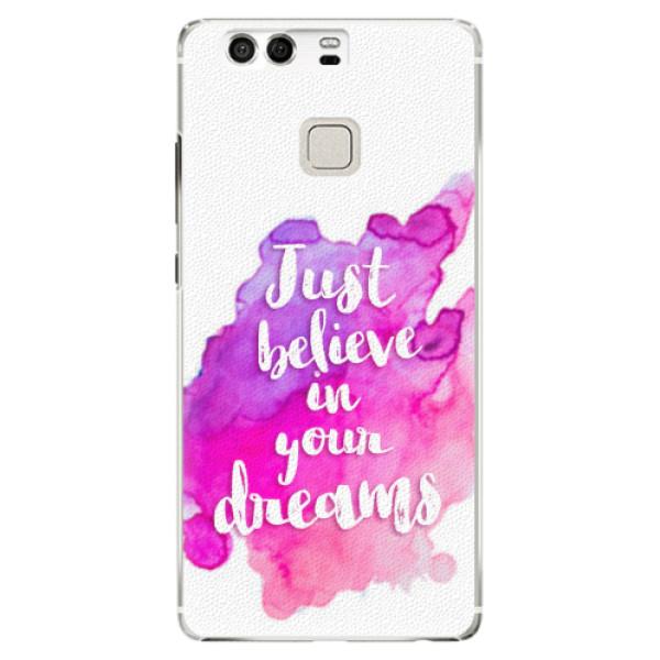 Plastové pouzdro iSaprio - Believe - Huawei P9