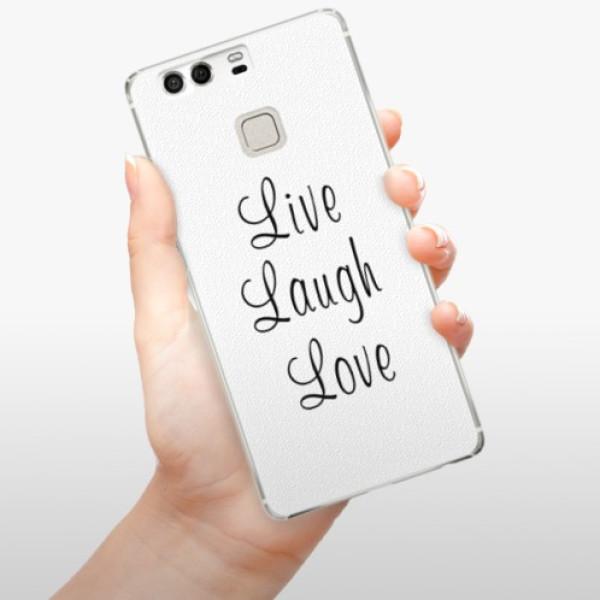 Plastové pouzdro iSaprio - Live Laugh Love - Huawei P9