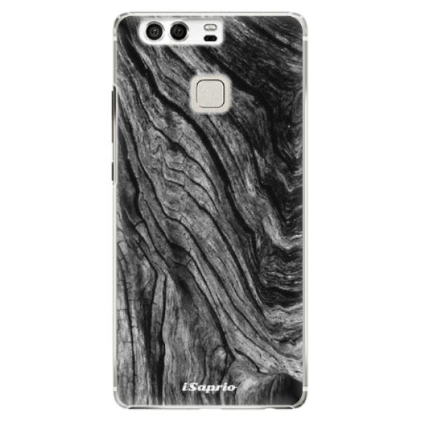 Plastové pouzdro iSaprio - Burned Wood - Huawei P9