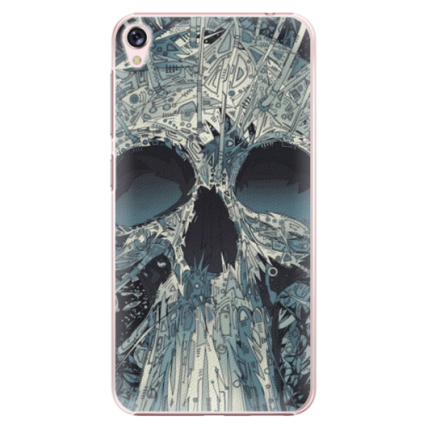 Plastové pouzdro iSaprio - Abstract Skull - Asus ZenFone Live ZB501KL