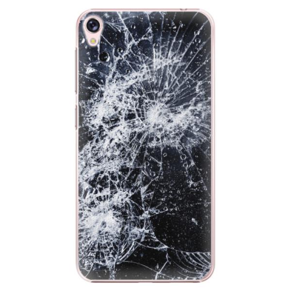 Plastové pouzdro iSaprio - Cracked - Asus ZenFone Live ZB501KL