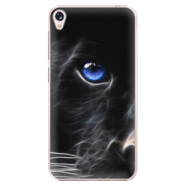 Plastové pouzdro iSaprio - Black Puma - Asus ZenFone Live ZB501KL
