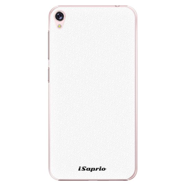 Plastové pouzdro iSaprio - 4Pure - bílý - Asus ZenFone Live ZB501KL