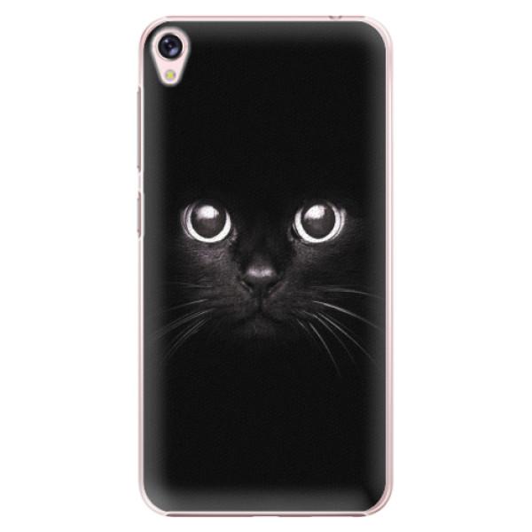 Plastové pouzdro iSaprio - Black Cat - Asus ZenFone Live ZB501KL
