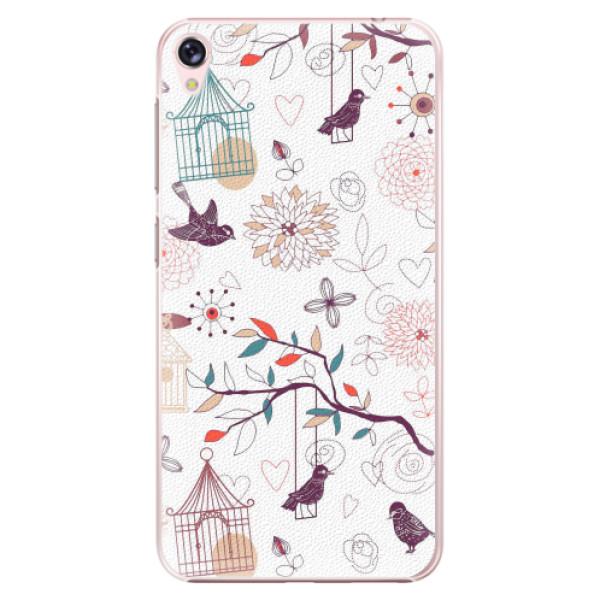Plastové pouzdro iSaprio - Birds - Asus ZenFone Live ZB501KL