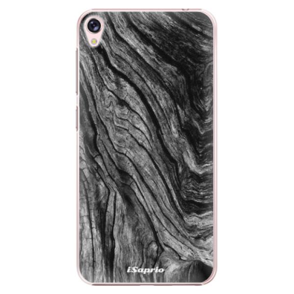 Plastové pouzdro iSaprio - Burned Wood - Asus ZenFone Live ZB501KL