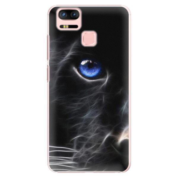 Plastové pouzdro iSaprio - Black Puma - Asus Zenfone 3 Zoom ZE553KL