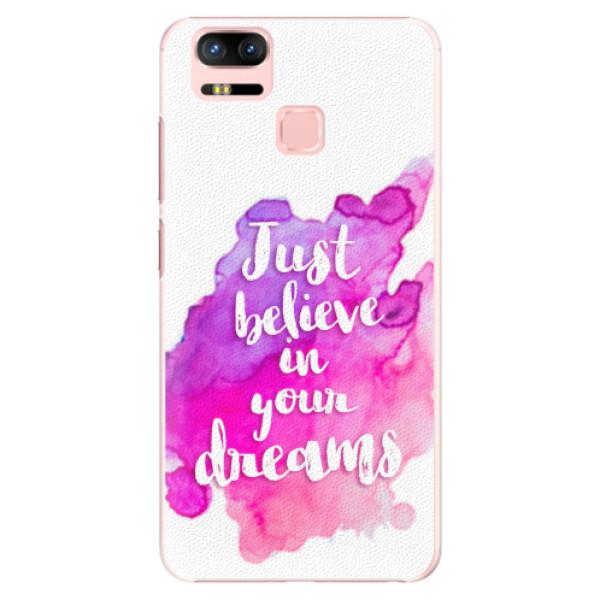 Plastové pouzdro iSaprio - Believe - Asus Zenfone 3 Zoom ZE553KL