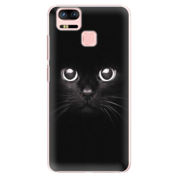 Plastové pouzdro iSaprio - Black Cat - Asus Zenfone 3 Zoom ZE553KL