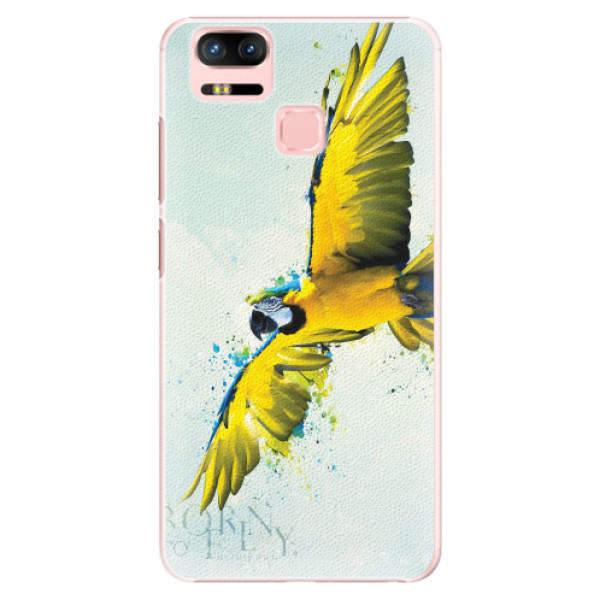 Plastové pouzdro iSaprio - Born to Fly - Asus Zenfone 3 Zoom ZE553KL
