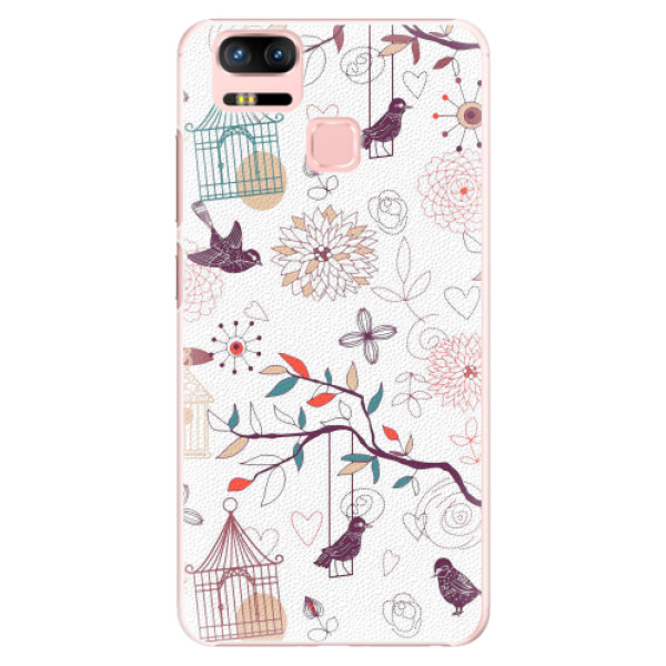Plastové pouzdro iSaprio - Birds - Asus Zenfone 3 Zoom ZE553KL
