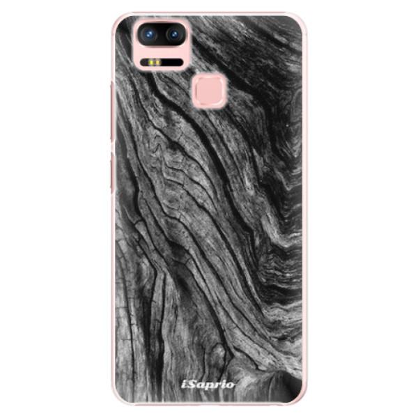 Plastové pouzdro iSaprio - Burned Wood - Asus Zenfone 3 Zoom ZE553KL