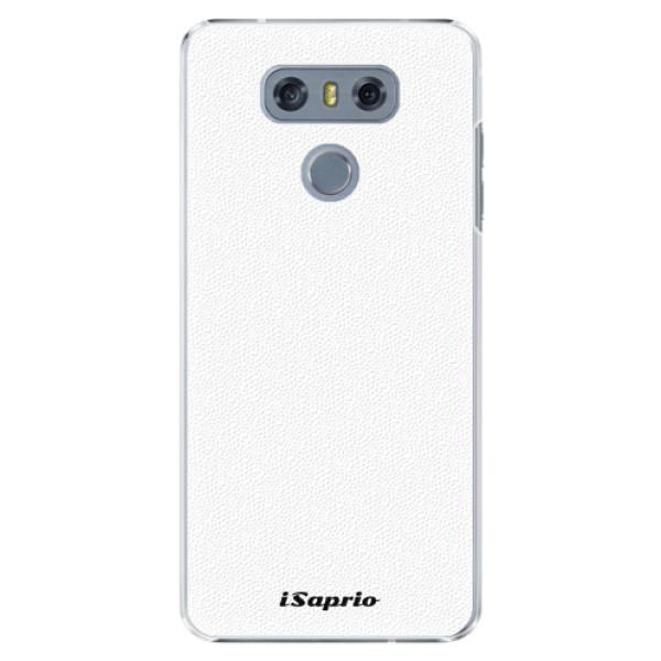Plastové pouzdro iSaprio - 4Pure - bílý - LG G6 (H870)