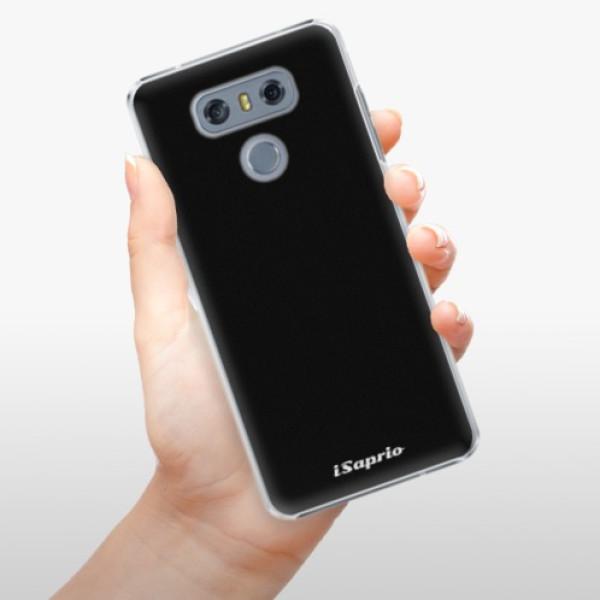 Plastové pouzdro iSaprio - 4Pure - černý - LG G6 (H870)
