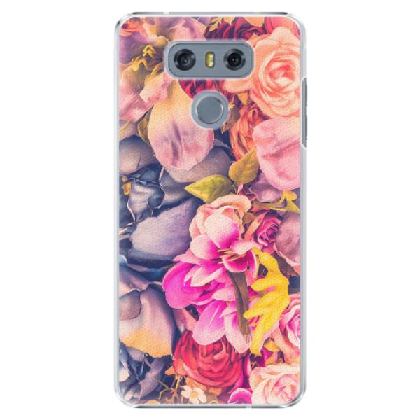 Plastové pouzdro iSaprio - Beauty Flowers - LG G6 (H870)