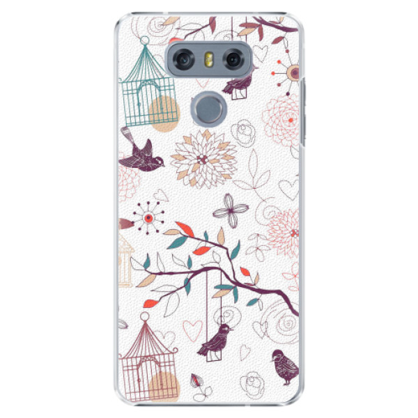 Plastové pouzdro iSaprio - Birds - LG G6 (H870)