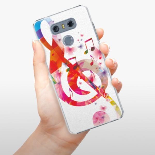 Plastové pouzdro iSaprio - Love Music - LG G6 (H870)