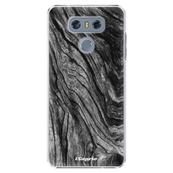 Plastové pouzdro iSaprio - Burned Wood - LG G6 (H870)