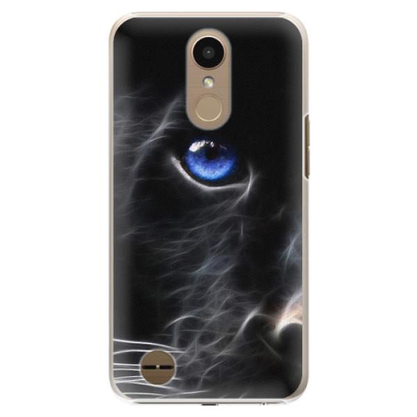 Plastové pouzdro iSaprio - Black Puma - LG K10 2017