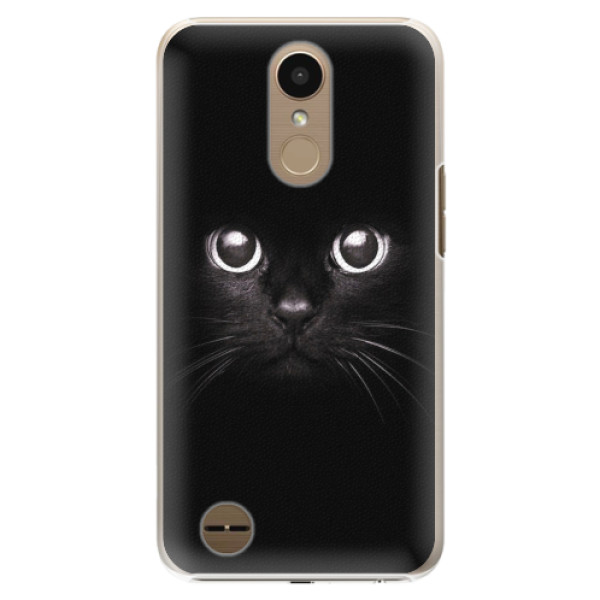 Plastové pouzdro iSaprio - Black Cat - LG K10 2017