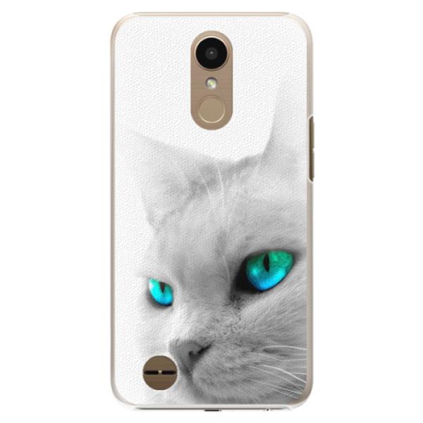 Plastové pouzdro iSaprio - Cats Eyes - LG K10 2017