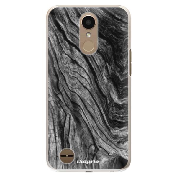 Plastové pouzdro iSaprio - Burned Wood - LG K10 2017