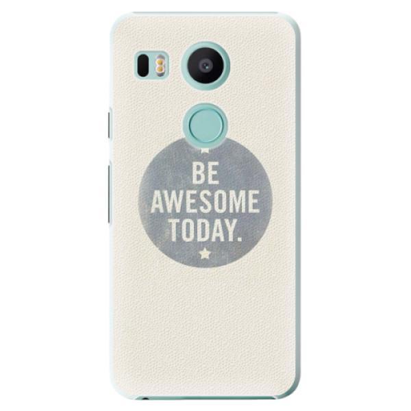 Plastové pouzdro iSaprio - Awesome 02 - LG Nexus 5X
