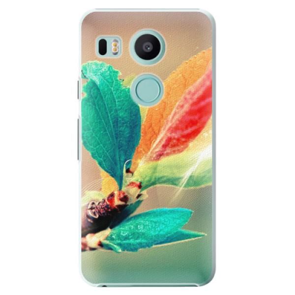 Plastové pouzdro iSaprio - Autumn 02 - LG Nexus 5X