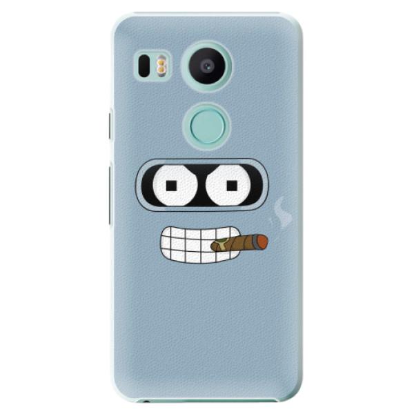Plastové pouzdro iSaprio - Bender - LG Nexus 5X