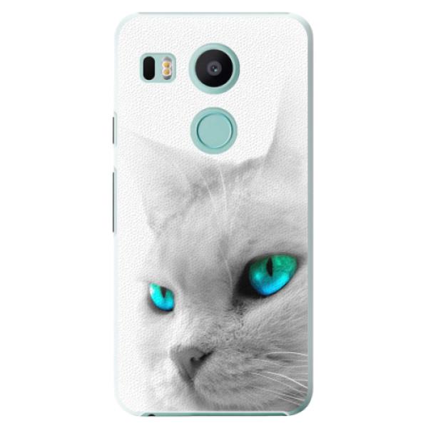 Plastové pouzdro iSaprio - Cats Eyes - LG Nexus 5X