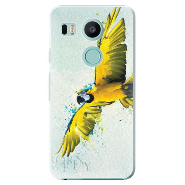 Plastové pouzdro iSaprio - Born to Fly - LG Nexus 5X