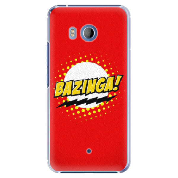 Plastové pouzdro iSaprio - Bazinga 01 - HTC U11