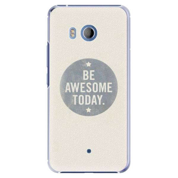 Plastové pouzdro iSaprio - Awesome 02 - HTC U11