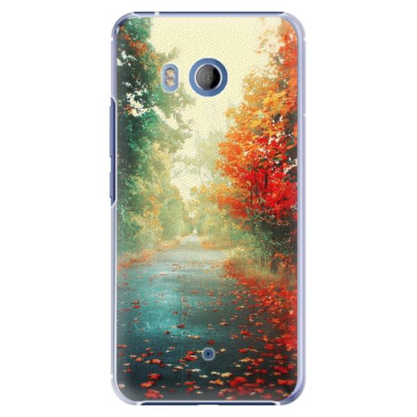 Plastové pouzdro iSaprio - Autumn 03 - HTC U11
