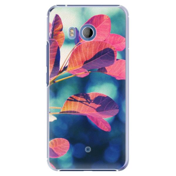 Plastové pouzdro iSaprio - Autumn 01 - HTC U11