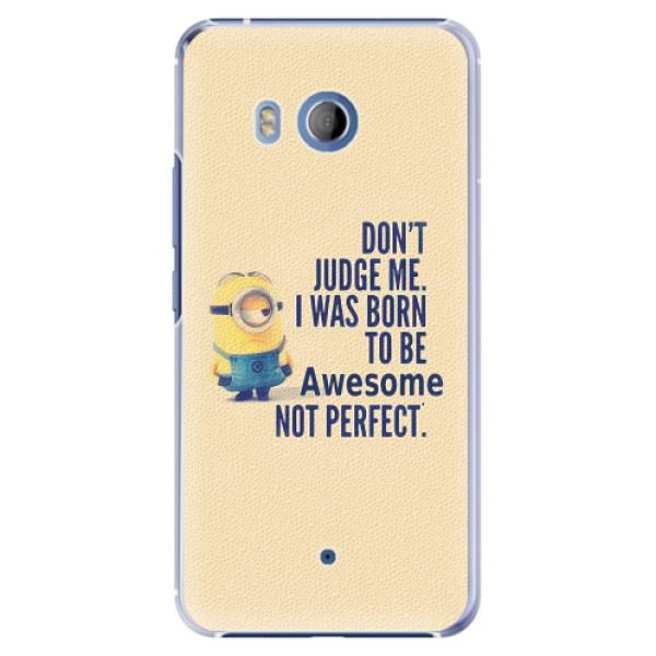 Plastové pouzdro iSaprio - Be Awesome - HTC U11