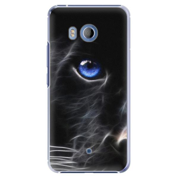 Plastové pouzdro iSaprio - Black Puma - HTC U11