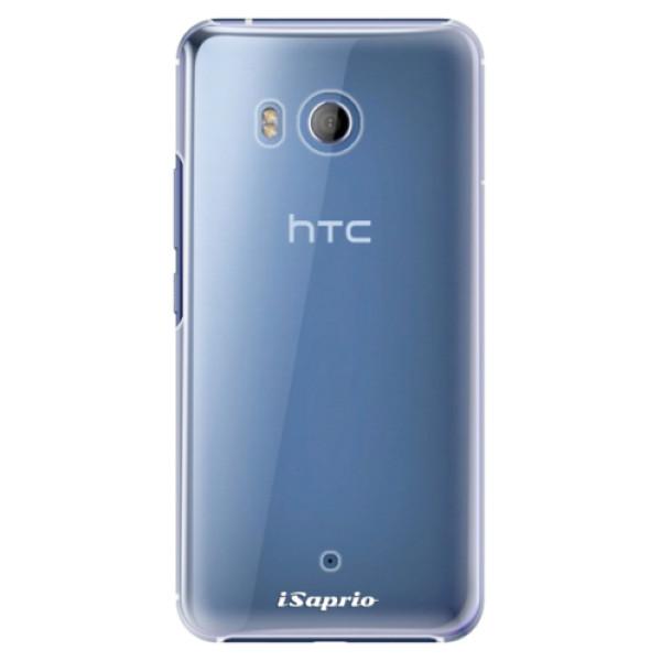 Plastové pouzdro iSaprio - 4Pure - mléčný bez potisku - HTC U11