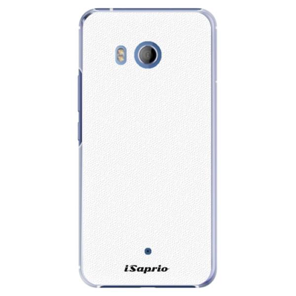 Plastové pouzdro iSaprio - 4Pure - bílý - HTC U11
