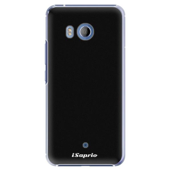 Plastové pouzdro iSaprio - 4Pure - černý - HTC U11