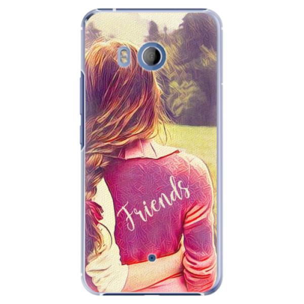 Plastové pouzdro iSaprio - BF Friends - HTC U11