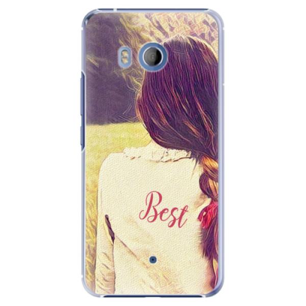 Plastové pouzdro iSaprio - BF Best - HTC U11