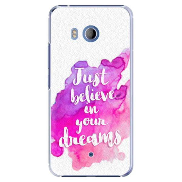 Plastové pouzdro iSaprio - Believe - HTC U11