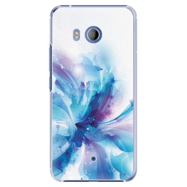 Plastové pouzdro iSaprio - Abstract Flower - HTC U11