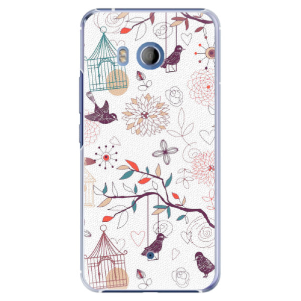 Plastové pouzdro iSaprio - Birds - HTC U11
